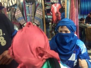 Pequeños PKU tuaregs