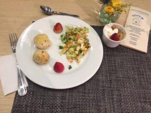 Foto del plato listo.