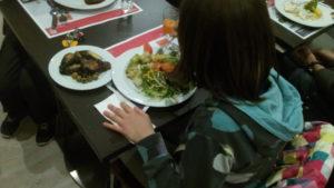 PKU Emma comiendo