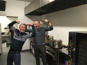 Chef Antti y yo